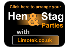 limousine hire with hen and stag party