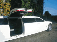 limousine for hire in Bradford