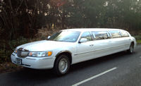 limo for hire in Hampshire