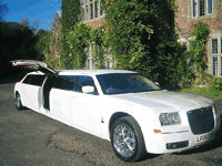 limousine hire Oxfordshire
