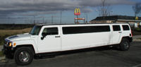 limo for hire in Sheffield