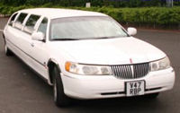 limousine for hire in Sheffield