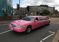 birmingham pink limo hire