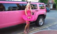 birmingham pink limousine hire