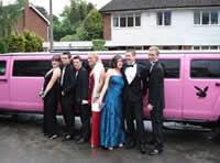 birmingham prom limo hire