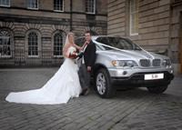bmw x5 wedding limo hire