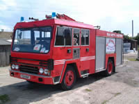 fire engine limousine hire