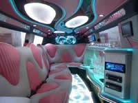 kent pink limousine hire