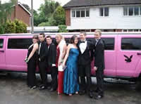 school prom limo hire leeds
