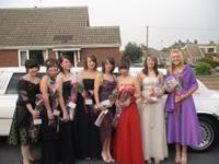 school prom limousine hire leeds