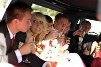 prom limousine hire london