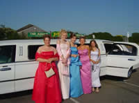 school prom limo hire newcastle
