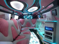 nottingham pink limousine hire