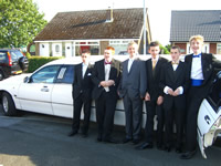 school prom limo hire scotland