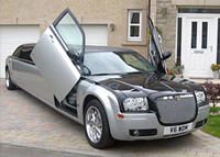 stretch limo hire scotland