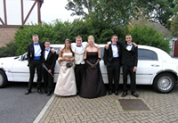 prom limo hire surrey