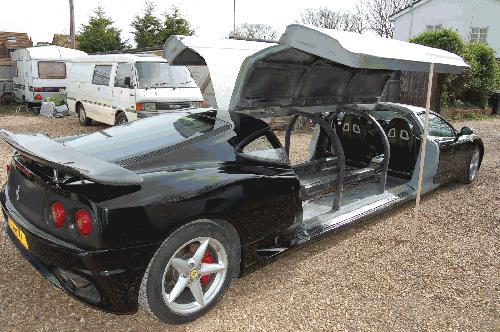 Ferrari Stretch Limousine Conversion | Big Limos