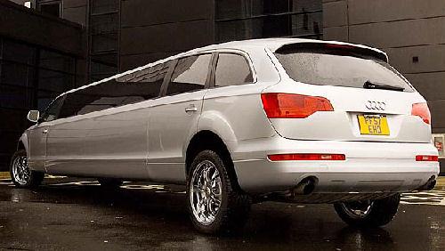 Audi Q7 limo hire