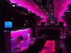 Chauffeur stretch H2 hummer limo 8 seater interior in East of England, Peterborough, Huntingdon, Stanford, King's Lynn, Norwich, Great Yarmouth, Lowestoft, Wisbech, Spalding, Cambridge, Cambridgeshire, Bedford, Bedfordshire, Newmarket, Bury St Edmunds, Suffolk, Norfolk, Lincolnshire, Northampton, Northamptonshire, Kettering, Leicester and Sudbury.