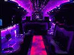 Chauffeur stretch H2 hummer limousine 8 seater interior in East of England, Peterborough, Huntingdon, Stanford, King's Lynn, Norwich, Great Yarmouth, Lowestoft, Wisbech, Spalding, Cambridge, Cambridgeshire, Bedford, Bedfordshire, Newmarket, Bury St Edmunds, Suffolk, Norfolk, Lincolnshire, Northampton, Northamptonshire, Kettering, Leicester and Sudbury.