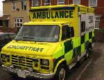 Chauffeur driven Ambulance limo hire in West Midlands, Birmingham, Coventry, Wolverhampton, Kidderminster, Stafford, Staffordshire, Telford, Shrewsbury, Walsall, Dudley, Worcester, Stoke on Trent, Shropshire and Warwickshire.