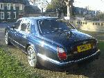 Chauffeur stretched Bentley Arnage limousine interior in peacock blue with full cream leather available in East of England, Peterborough, Huntingdon, Stanford, King's Lynn, Norwich, Great Yarmouth, Lowestoft, Wisbech, Spalding, Cambridge, Cambridgeshire, Bedford, Bedfordshire, Newmarket, Bury St Edmunds, Suffolk, Norfolk, Lincolnshire, Northampton, Northamptonshire, Kettering, Leicester and Sudbur