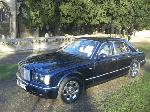 Chauffeured stretch Bentley Arnage limousine in peacock blue with full cream leather available in East of England, Peterborough, Huntingdon, Stanford, King's Lynn, Norwich, Great Yarmouth, Lowestoft, Wisbech, Spalding, Cambridge, Cambridgeshire, Bedford, Bedfordshire, Newmarket, Bury St Edmunds, Suffolk, Norfolk, Lincolnshire, Northampton, Northamptonshire, Kettering, Leicester and Sudbury.