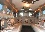 Chauffeur stretch silver Hummer limo hire in Birmingham, Coventry, Dudley, Wolverhampton, Telford, Worcester, Walsall, Stafford