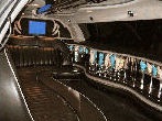 Chauffeur stretch Lincoln limo hire interior in London, Berkshire, Surrey, Buckinghamshire, Hertfordshire, Essex, Kent, Hampshire, Northamptonshire