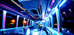 Party Bus limo hire in London, Reading, High Wycombe, Swindon, Oxford, Cambridge, Croydon, Milton Keynes, Northampton, Hertfordshire, Buckinghamshire, Bedfordshire, Berkshire, Surrey, Essex, Hampshire, UK.
