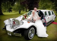 Bride limo hire