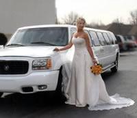 Bride limousine rental