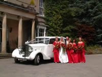 Bridesmaid limousine hire