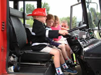Kids Party limousine hire