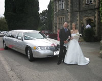 honeymoon limo hire