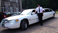 honeymoon limousine hire