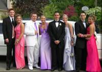 school prom limousine hire