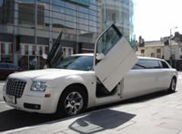 shopping trip limousine hire