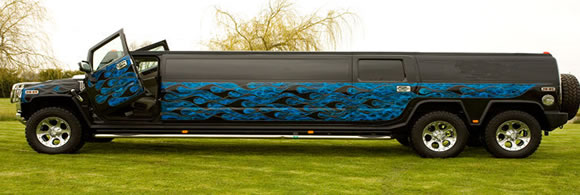 Hummer limo hire