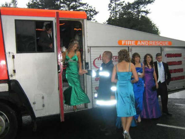 School Prom - Fire Engine - Liverpool - July 2008 - Image 5